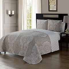 VCNY Quinn Reversible Quilt Set