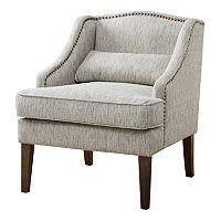 Madison Park Cholet Swoop Arm Accent Chair