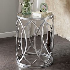 Madison Park Coen Metal End Table
