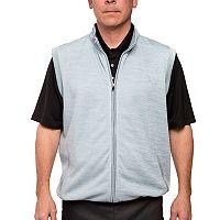 Men's Pebble Beach Classic-Fit Full-Zip Performance Golf Sweater Vest