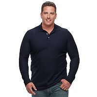 Big & Tall Croft & Barrow® Classic-Fit Stretch Performance Pique Polo