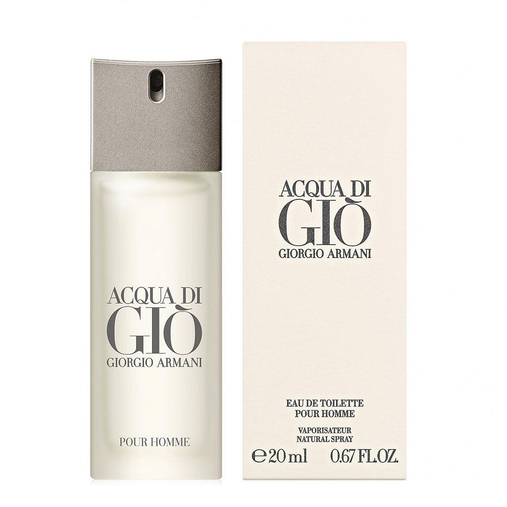 Armani Acqua Di Gio Pour Homme Men's Cologne Travel Spray - Eau de Toilette