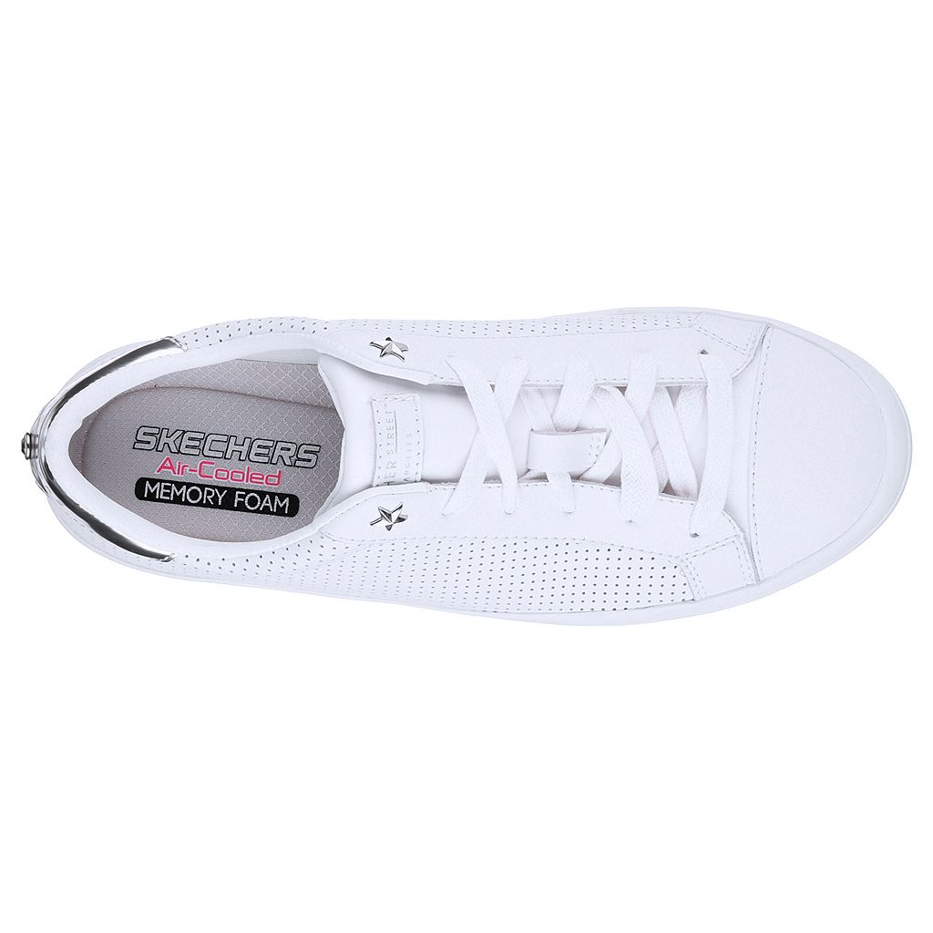 Skechers Street Hi-Lite Women's Leather Sneakers