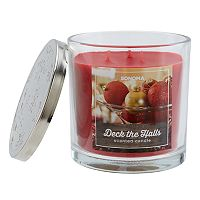 SONOMA Goods for Life™ Deck The Halls 14-oz. Christmas Candle Jar