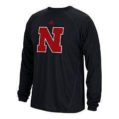 Men's adidas Nebraska Cornhuskers Sideline Spine Tee