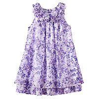 Girls 4-6x Blueberi Boulevard Chiffon Sundress