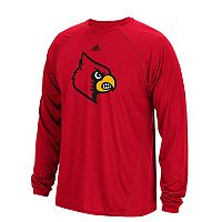 Men's adidas Louisville Cardinals Sideline Spine Tee