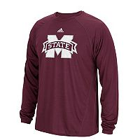 Men's adidas Mississippi State Bulldogs Sideline Spine Tee