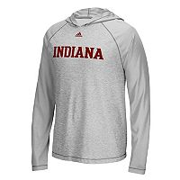 Men's adidas Indiana Hoosiers Mark My Words Hooded Tee