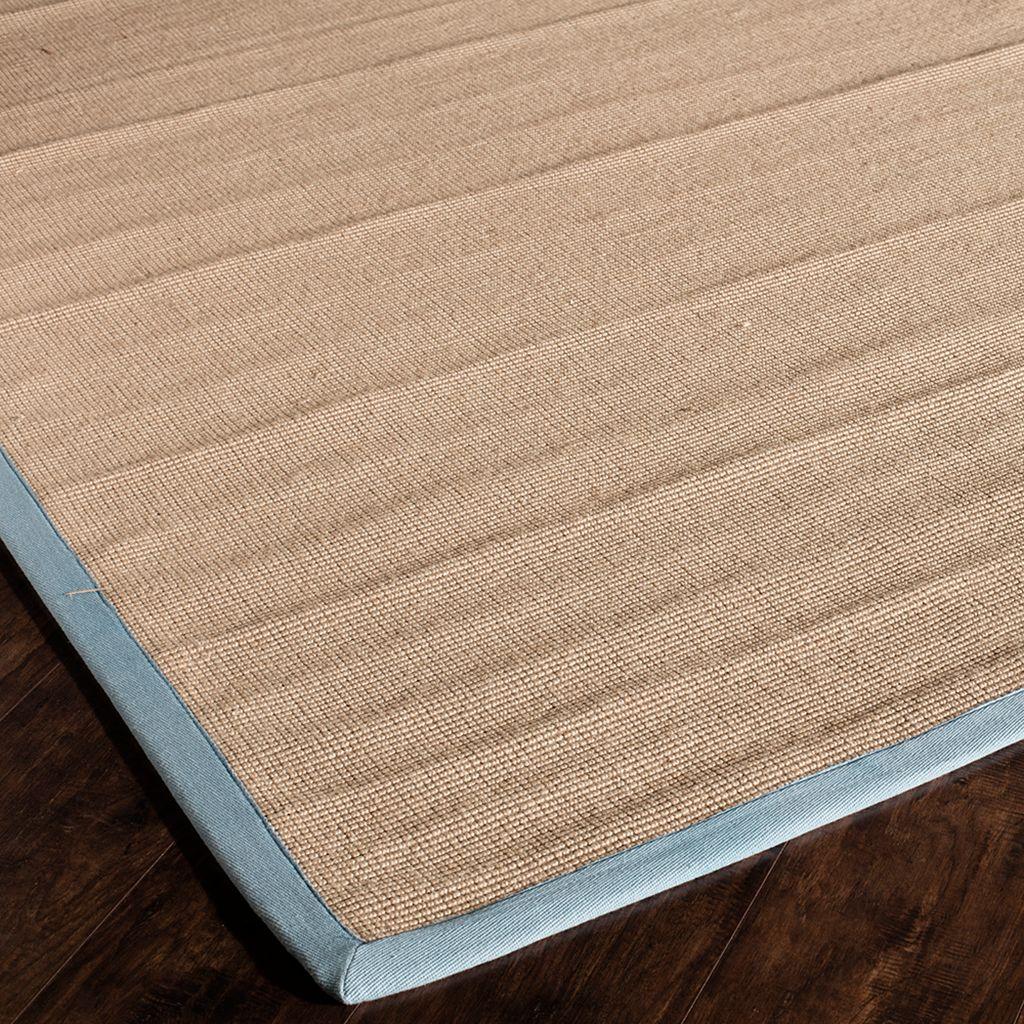 Rugs America Classic Coir Framed Solid Rug