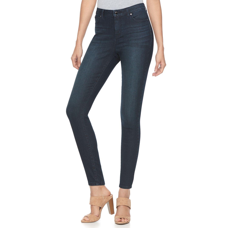 High waisted skinny jeans kohls