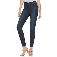 Women's Jennifer Lopez High-Rise Skinny Jeans