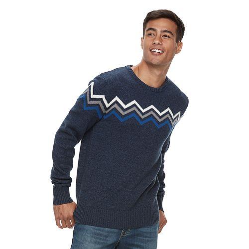 Men'z Urban Pipeline® Zig-Zag Striped Sweater