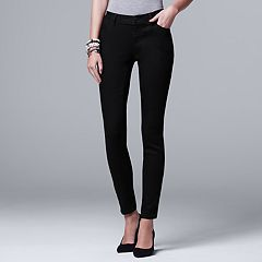 Women's Simply Vera Vera Wang Everyday Luxury Skinny Jeans