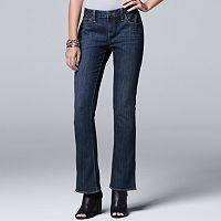 Women's Simply Vera Vera Wang Bootcut Jeans