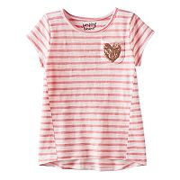 Girls 4-10 Jumping Beans® Short Sleeve Forward Seam Tee