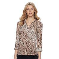 Women's Dana Buchman Button-Placket Shirt