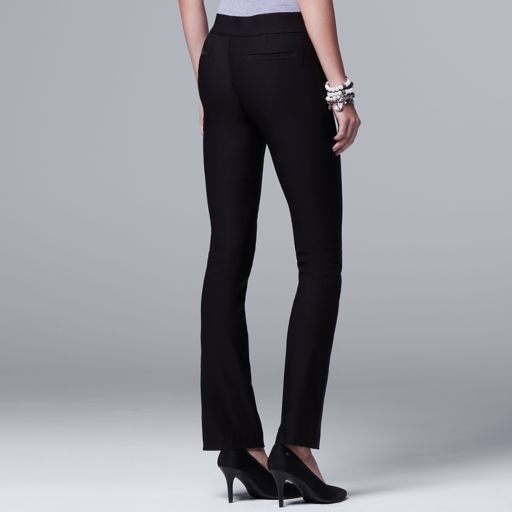 Women's Simply Vera Vera Wang Pull-On Bootcut Pants