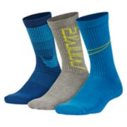 Boys Nike Performance 3-Pack Crew Socks