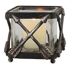 Stonebriar Collection Small Arrow Votive Candle Holder