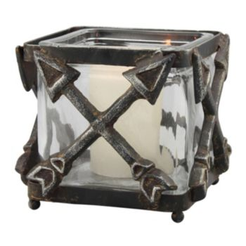 Stonebriar Collection Large Arrow Votive Candle Holder