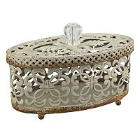 Stonebriar Collection Decorative Trinket Box Table Decor