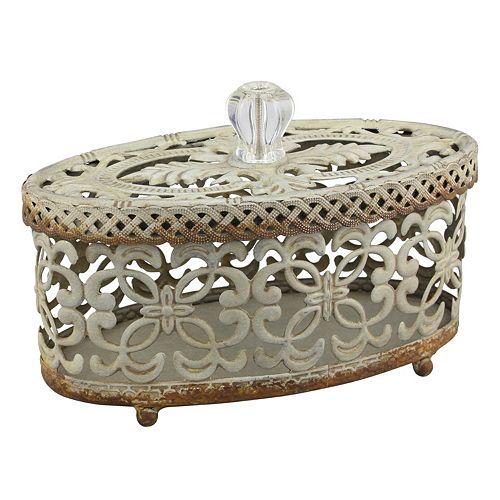 Stonebriar Collection Decorative Trinket Box Table Decor