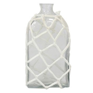Stonebriar Collection Glass Bottle Table Decor