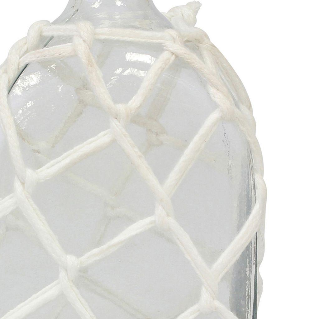 Stonebriar Collection Glass Bottle Table Decor