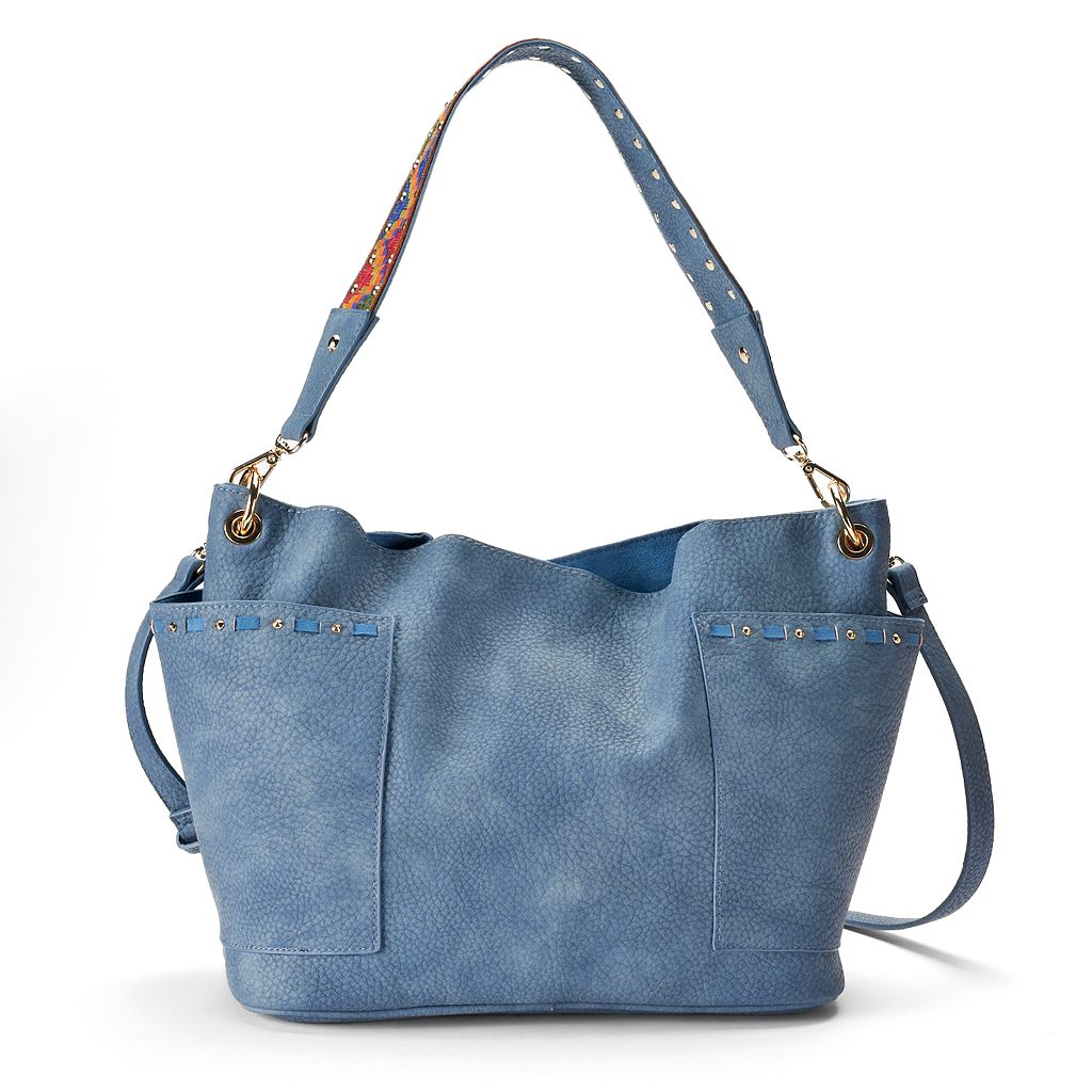 madden NYC Romy Crossbody Bucket Bag