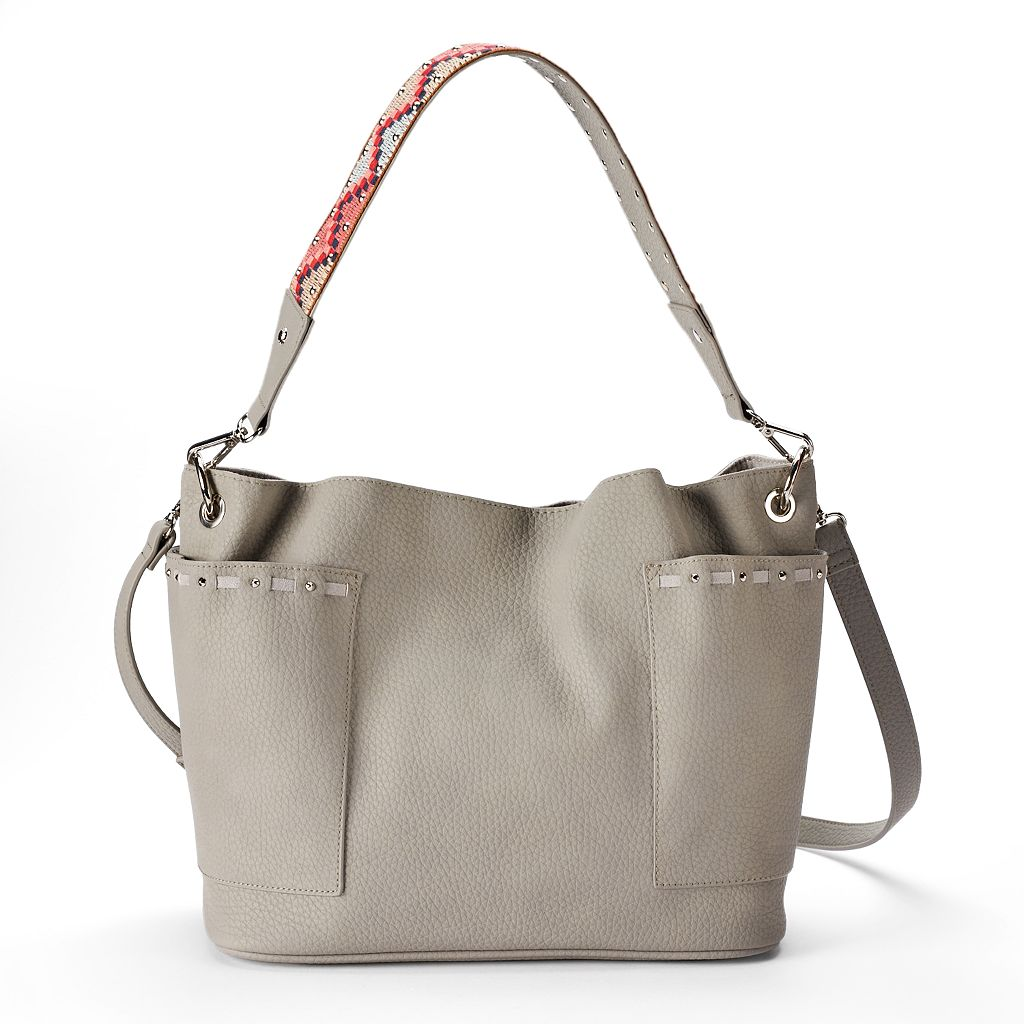 madden NYC Romy Crossbody Bucket Bag