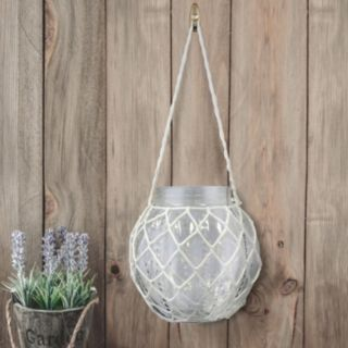 Stonebriar Collection Hanging Jar Decor