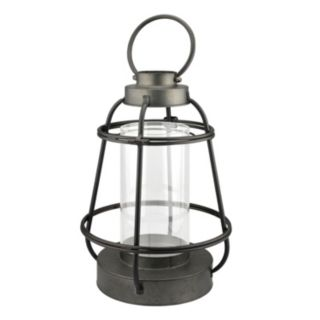 Stonebriar Collection Nautical Lantern Pillar Candle Holder