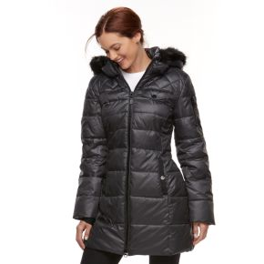 Women's Halitech Faux-Fur Trim Puffer Jacket