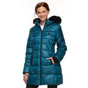 Women's Halitech Faux-Fur Trim Puffer Jacket