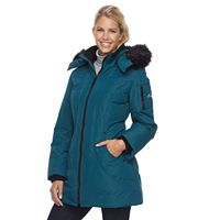 Women's Halitech Radiance Faux-Fur Trim Hooded Parka