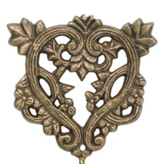 Stonebriar Collection Heart Hook Wall Decor