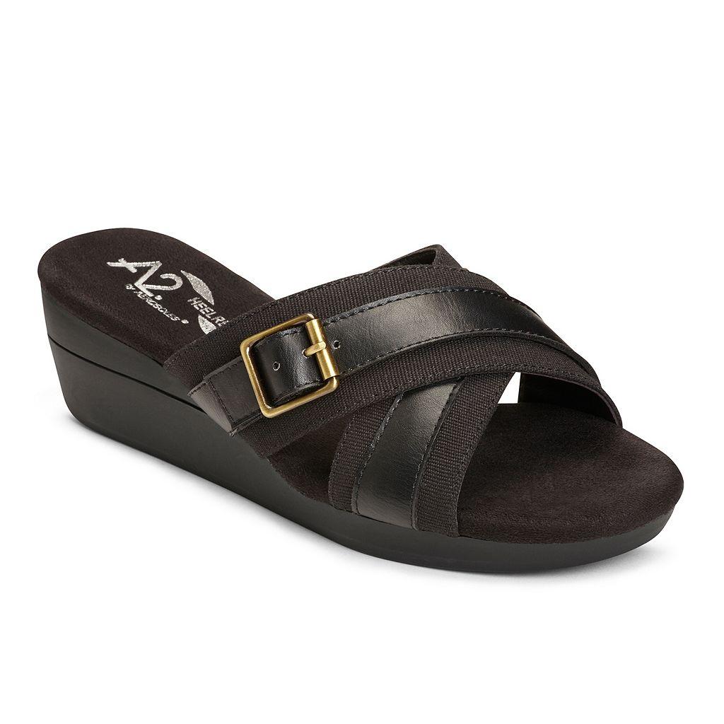 A2 by Aerosoles Florist Women's Wedge Sandals