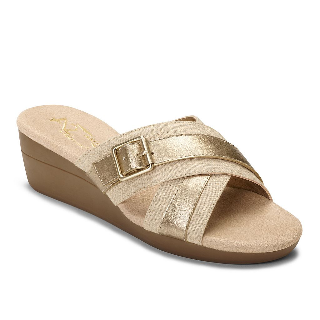 A2 by Aerosoles Florist Women's Wedge Sandals