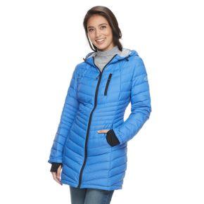 Women's Halitech Lightweight Packable Puffer Coat with Hood