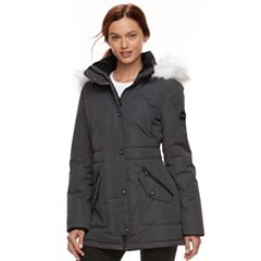 Women's Halitech Faux-Fur Trim Parka