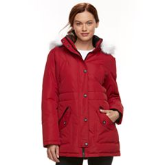 Womens Red Parka Coats & Jackets - Outerwear, Clothing | Kohl's
