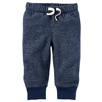 Baby Boy Carter's Heathered Fleece Pants