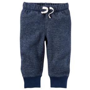 Baby Boy Carter's Heathered Fleece Pants