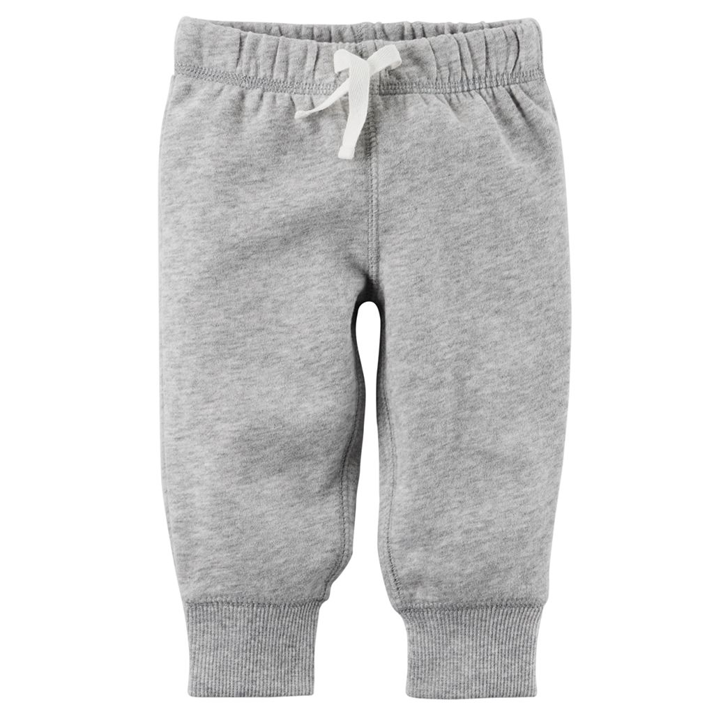 Baby Boy Carter's Solid Fleece Pants