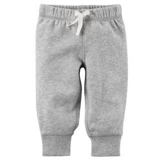 Baby Boy Carter's Solid Fleece Pants