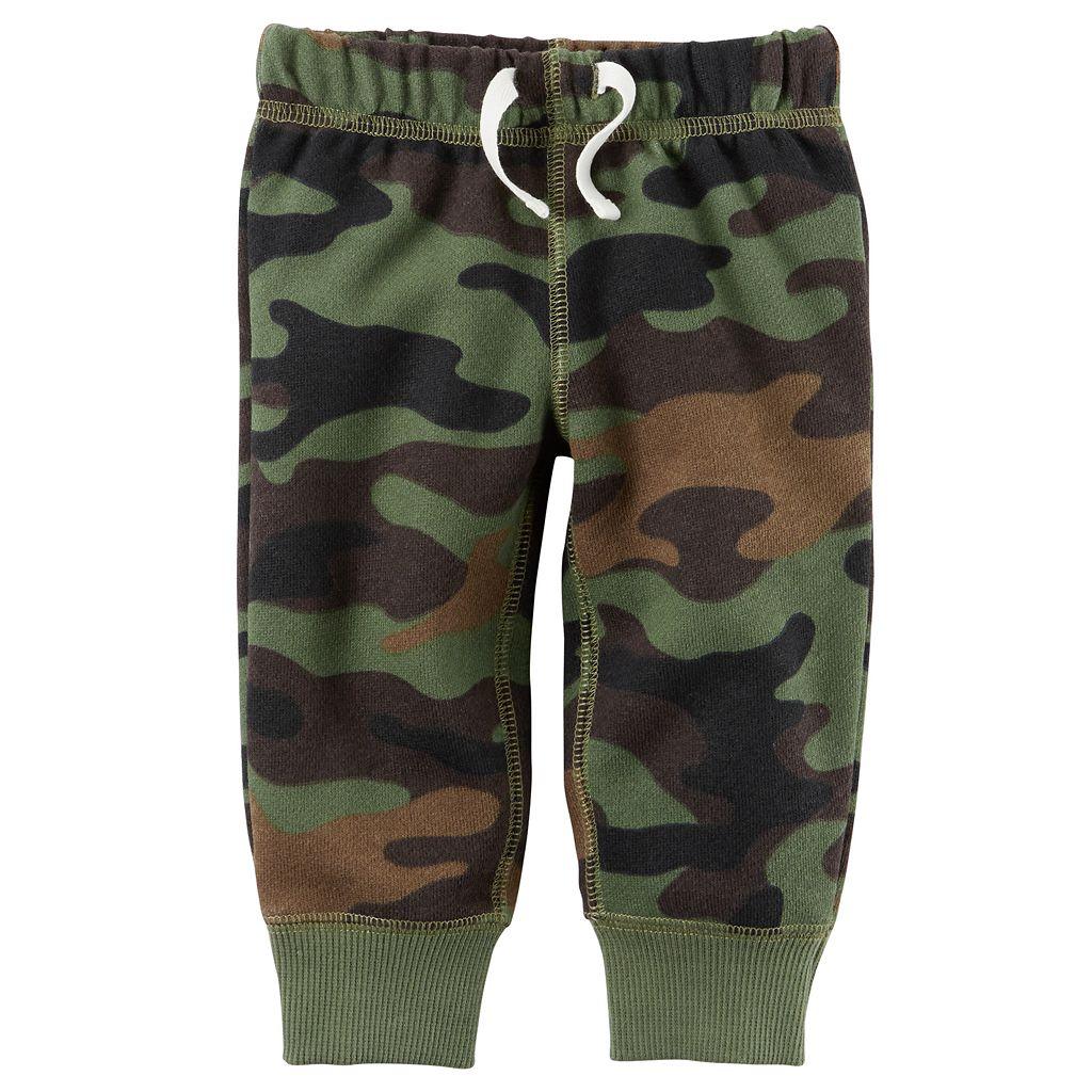 Baby Boy Carter's Camouflage Fleece Pants