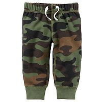 Baby Boy Carter's Camouflage Fleece Pants
