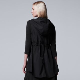 Women's Simply Vera Vera Wang Hooded Vest