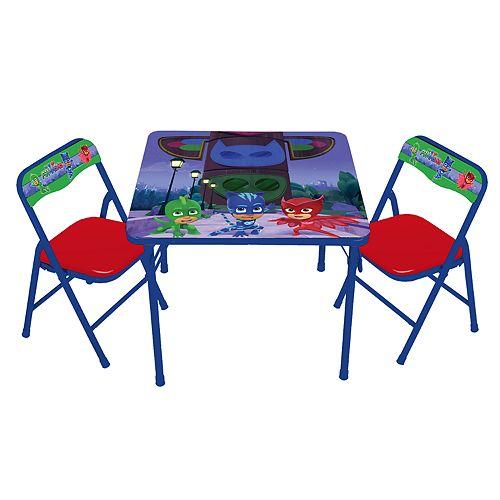 PJ Masks Activity Table & Chairs Set